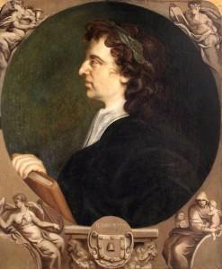 John Milton by Godfrey Kneller, 1690